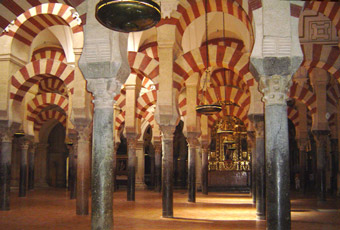 Het zuilenbos van de Mezquita - Cordoba