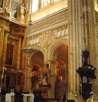 The Mezquita (Mosque), Cordoba - Andalusia, Spain.