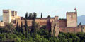 Panoramic view over the Alhambra, Granada - Andalusia, Spain