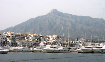 The harbour of Puerto Banus (Marbella) - Costa del SOL