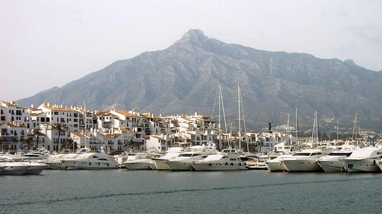 Puerto Banus Costa Del Sol Andalusia Spain