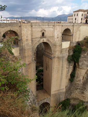 The new bridge of Ronda - Andalusia, Spain