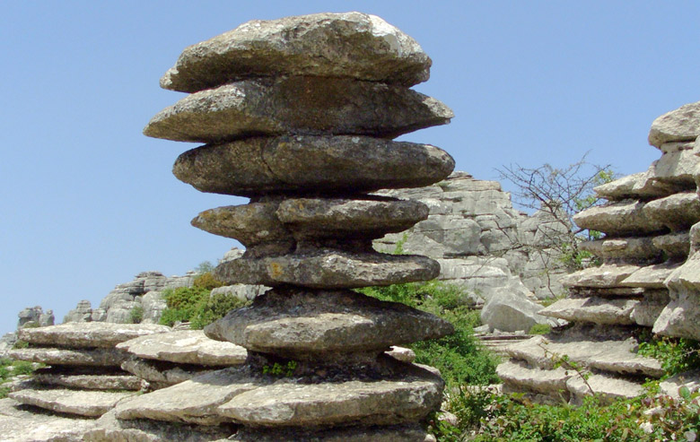 El Tornillo (the Screw) at Torcal de Antequera natural park, province of Malaga - Andalusia