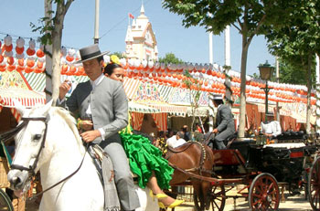 Feria de Abril (April Fair) of Seville, Spain