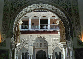 Arches all over the Alcazar