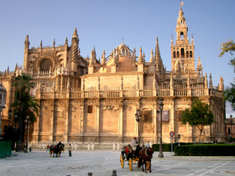 The Cathedral of Seville - Andalusia, Spain.