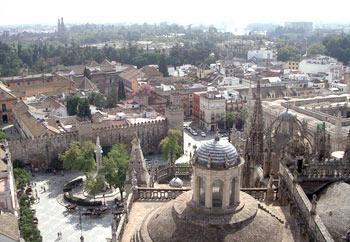 Vista desde la Giralda, Sevilla