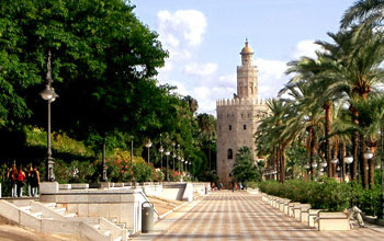 The Gold Tower, Seville - Andalusia, Spain