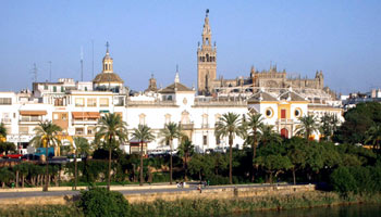 View over Sevilla - Seville, Spain.