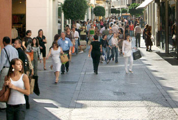 Shopping in Sevilla, Tetuan street